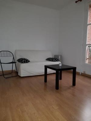Studio meublé - 16m²