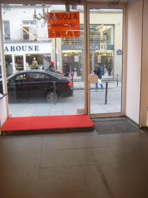 Boutique + 1 étage