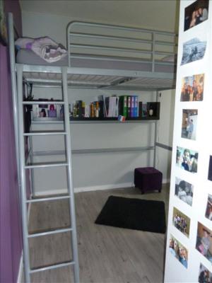 A louer - studio meublé 13 m² - rue de fougères