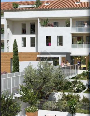 Appartement T4 de 82m² avec une terrasse de 29m² et garage