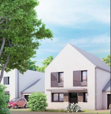 Maison de 4 pièces de 88 m² avec jardin de 80 m²