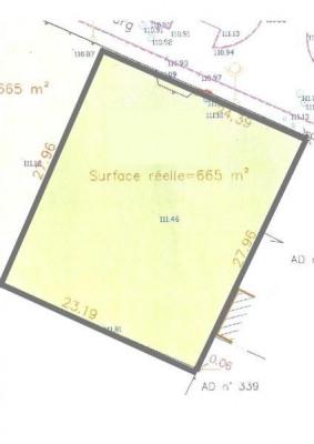 3 Terrains à bâtir VIENNE EN VAL - 665 m2