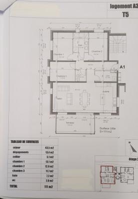 Appartement neuf 4 pièces belles prestations