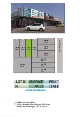 Bureaux Baie Mahault 70 m²
