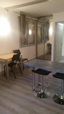 Studio meublé en rez-de-chaussée