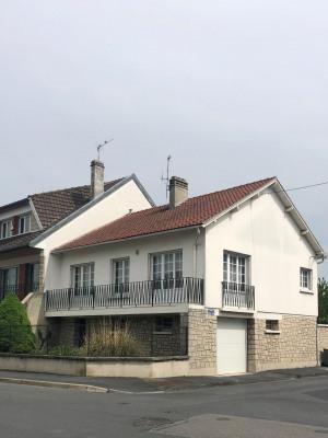 Rue de Saint Thierry plain pied sur sous-sol