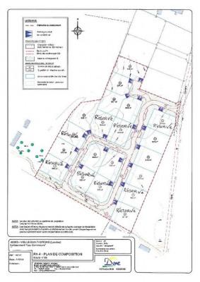 Terrain Vielle St Girons 608 m²