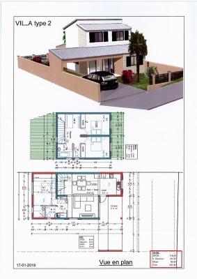 Villa Deux-Rives F4 à 280 000 euros