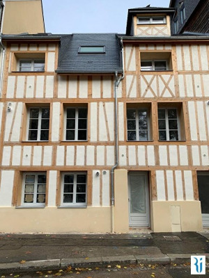 Appartement Rouen 1 pièce(s) 15.37 m2