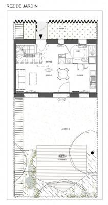 Sublime maison 3 pièces avec jardin