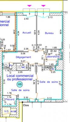 Local commercial Aire Sur L Adour 5 pièce (s) 64 m²