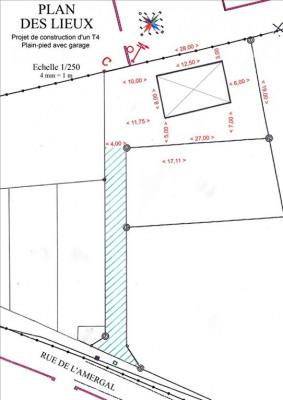 Terrain 664 m², 664 m² - Paulhan (34230)