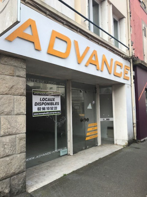 A LOUER Local commercial 46 m² QUIMPER
