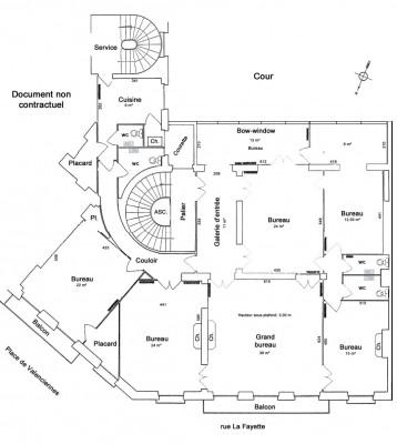 Bureaux refaits à neuf 215 m²