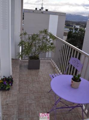 Appartement T3 60 m² dans résidence sécurisée, vue sur le Ve