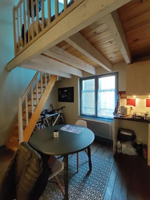 Limoges studio de 17 m² en duplex