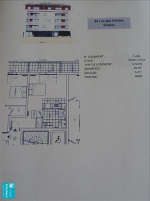 Appartement sceaux - 1 pièce (s) - 30 m²