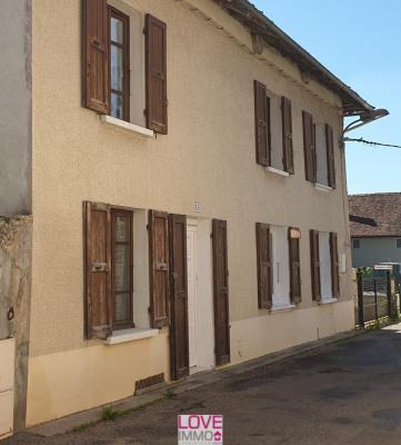 Maison de 150m² et 208m² de terrain