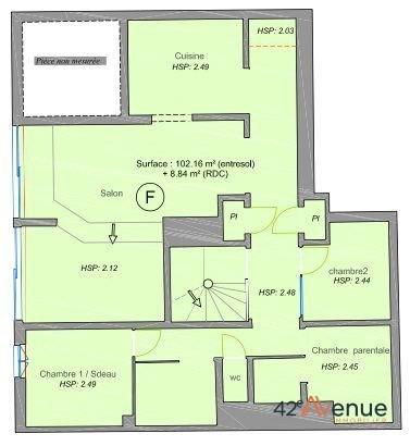 Vente appartement Saint-étienne 75000€ - Photo 4