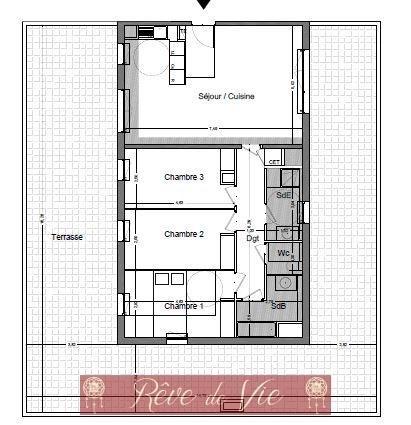 Sale apartment Le lavandou 500000€ - Picture 2