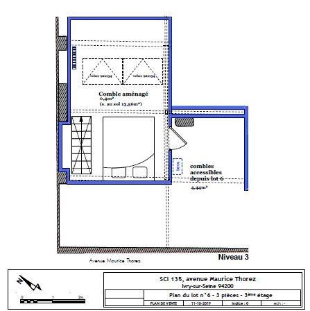 Venta  apartamento Ivry-sur-seine 305000€ - Fotografía 16