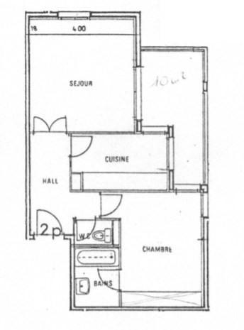 Venta  apartamento Charbonnieres les bains 189000€ - Fotografía 1