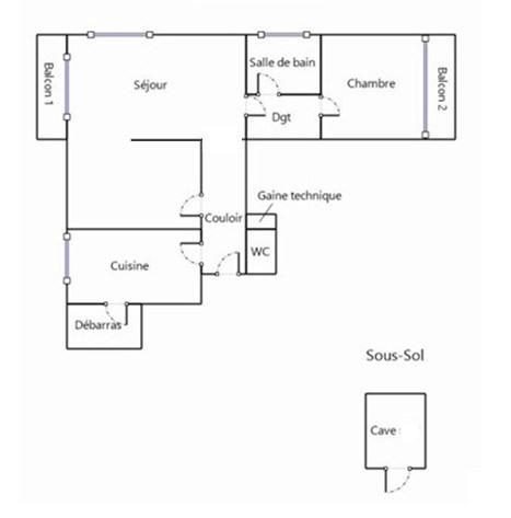 Vente appartement Boulogne-billancourt 363000€ - Photo 6