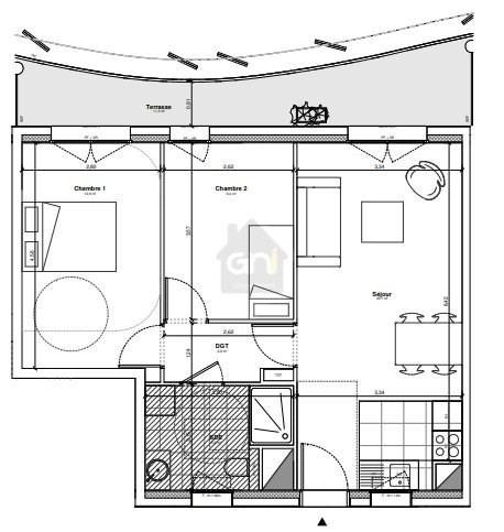 Vente appartement Marseille 8ème 335000€ - Photo 4