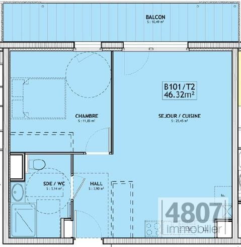 Vente appartement Servoz 227000€ - Photo 3