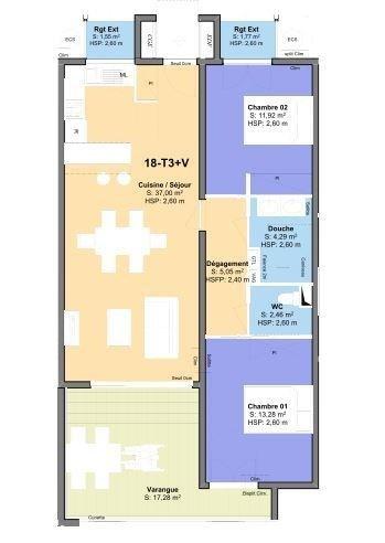 Venta  apartamento St leu 368940€ - Fotografía 2