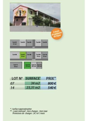 Location bureau Sainte anne 946€ HC - Photo 1