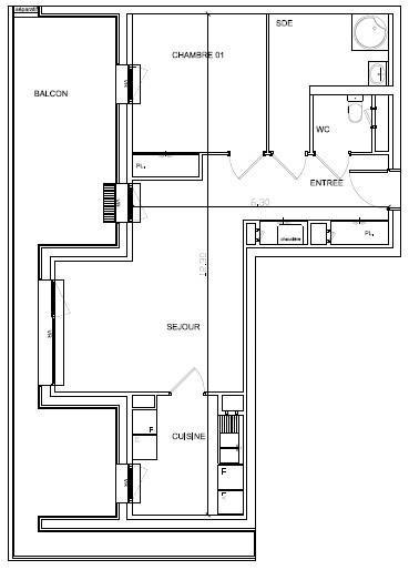 Vente appartement Soissons 120000€ - Photo 2
