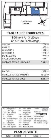 Vente appartement Antony 586497€ - Photo 3