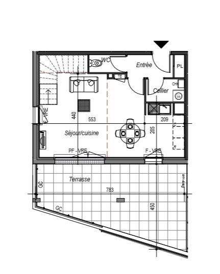 Sale building Saint gilles croix de vie 370000€ - Picture 2
