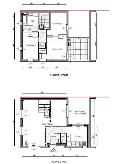 Vente maison / villa Villeurbanne 380000€ - Photo 2