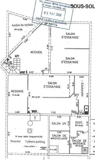 Sale empty room/storage Saint-ouen-l'aumône 290000€ - Picture 2