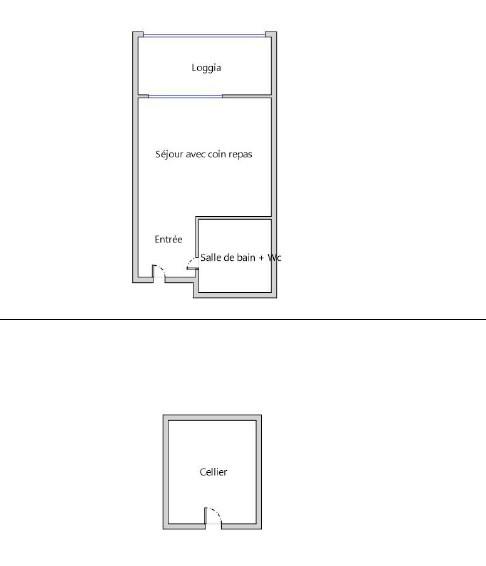 Vente appartement Le cap d'agde 58000€ - Photo 2