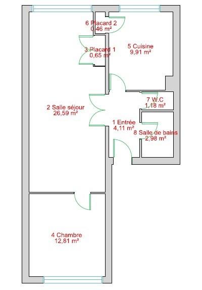 Vente appartement Maisons laffitte 294000€ - Photo 7