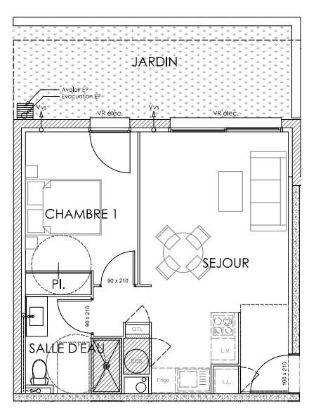 Vente appartement Perpignan 131000€ - Photo 2