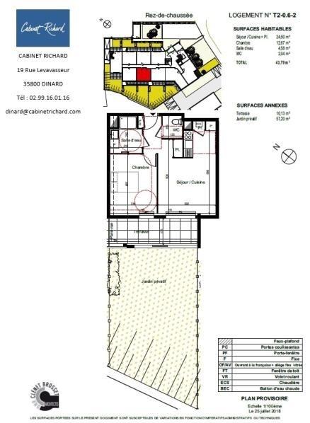 Venta  apartamento St malo 143000€ - Fotografía 1