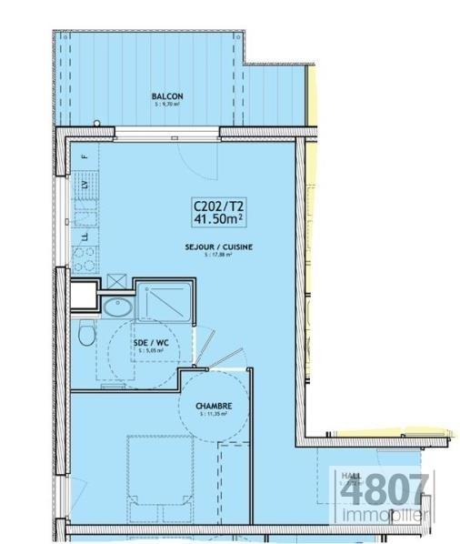 Vente appartement Servoz 210000€ - Photo 4