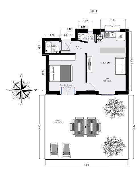 Producto de inversión  apartamento Paris 15ème 334400€ - Fotografía 9