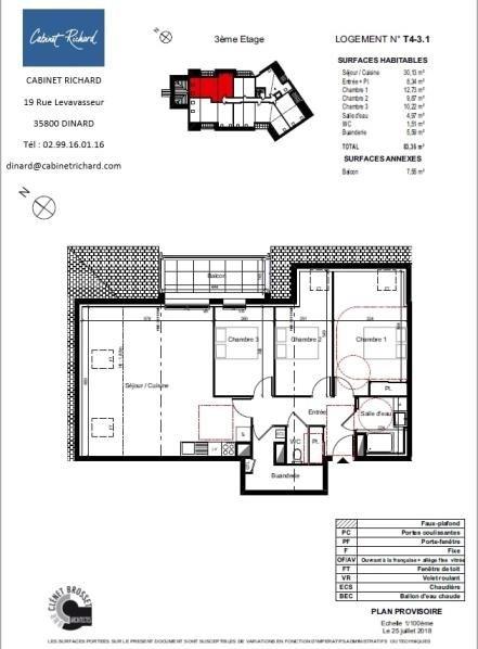 Sale apartment St malo 295000€ - Picture 1