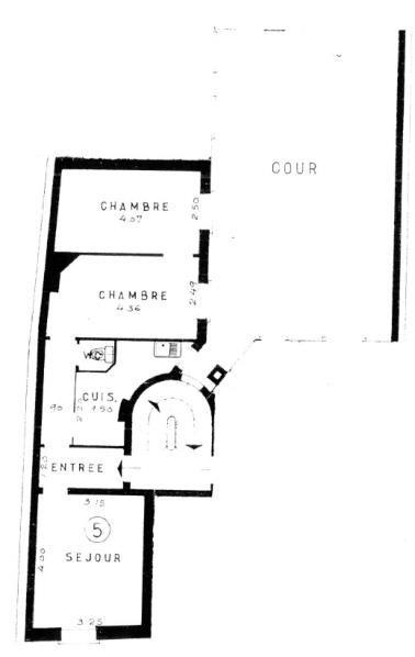 Vente appartement Paris 18ème 364000€ - Photo 5