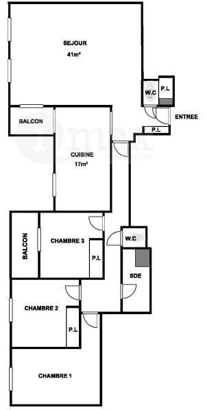 Deluxe sale apartment Levallois perret 1170000€ - Picture 8