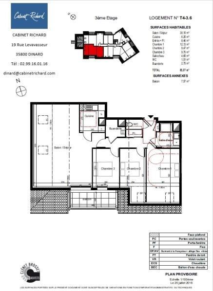 Revenda apartamento St malo 298000€ - Fotografia 1