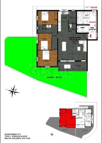 Deluxe sale apartment Biarritz 810000€ - Picture 3