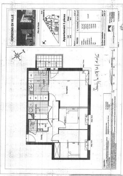 Venta  apartamento Saint denis 237000€ - Fotografía 3