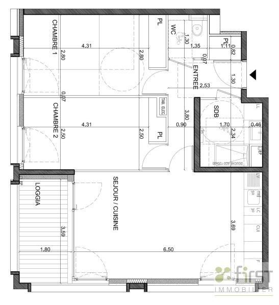 Venta  apartamento Annemasse 299500€ - Fotografía 2