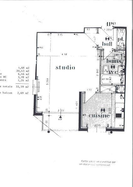 Rental apartment Les pavillons sous bois 595€ CC - Picture 2